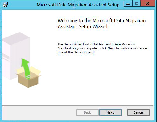 Microsoft Database Migration Assistant tool installation
