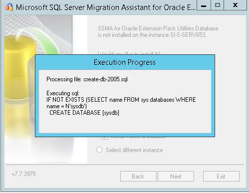 Migrating an Oracle Database to SQL Server with Microsoft