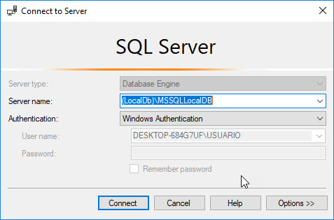 How to simulate the Azure SQL Database storage account