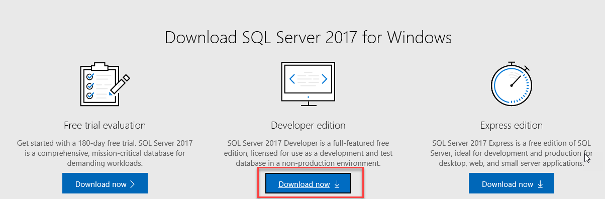 Download free sql server 2016 developer edition » sqlerudition. Com.