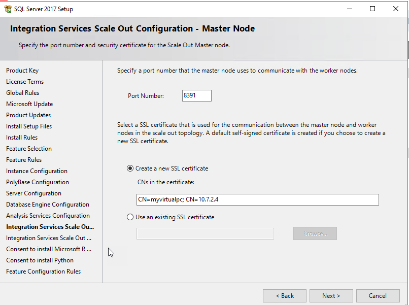 Step By Step Installation Of Sql Server 2017