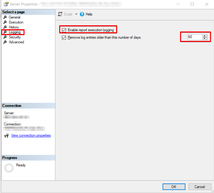 SQL Server Reporting Service Configuration Manager