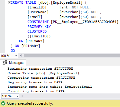 Techniques to bulk copy, import and export in SQL Server