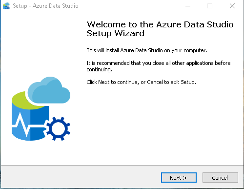 Azure Data Studio Wizard