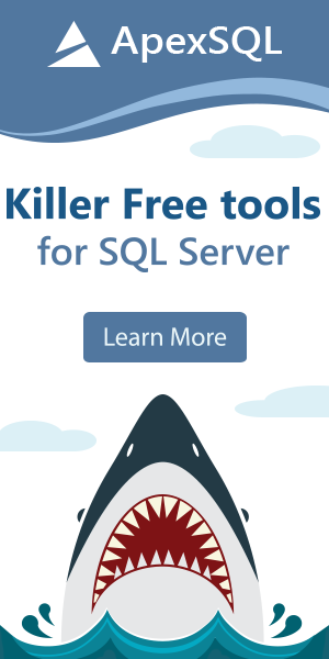 Killer free tools for SQL Server