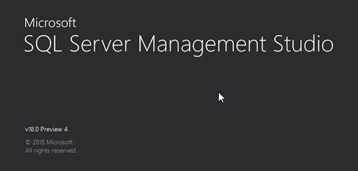 Launch SSMS to connect with SQL Server 2019