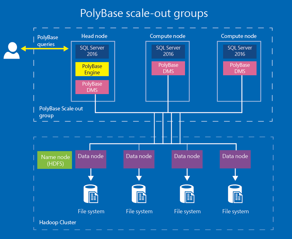 PolyBase scale-out groups