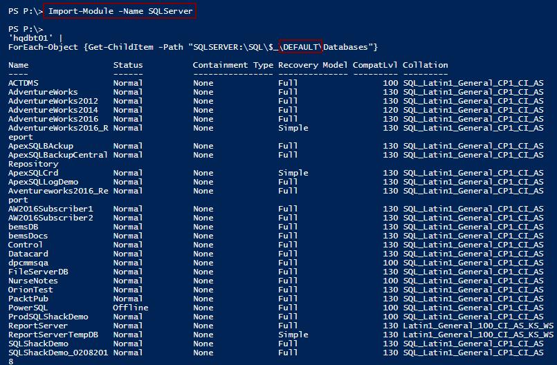 Six methods to automatically Discover SQL Server instances