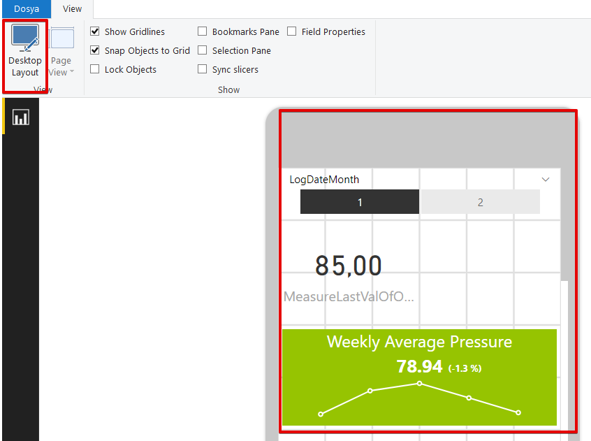 Use of Key Performance Indicators in Power BI
