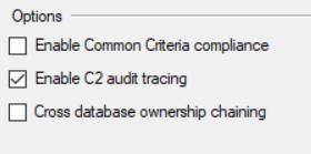 Implementing a manual SQL Server Audit