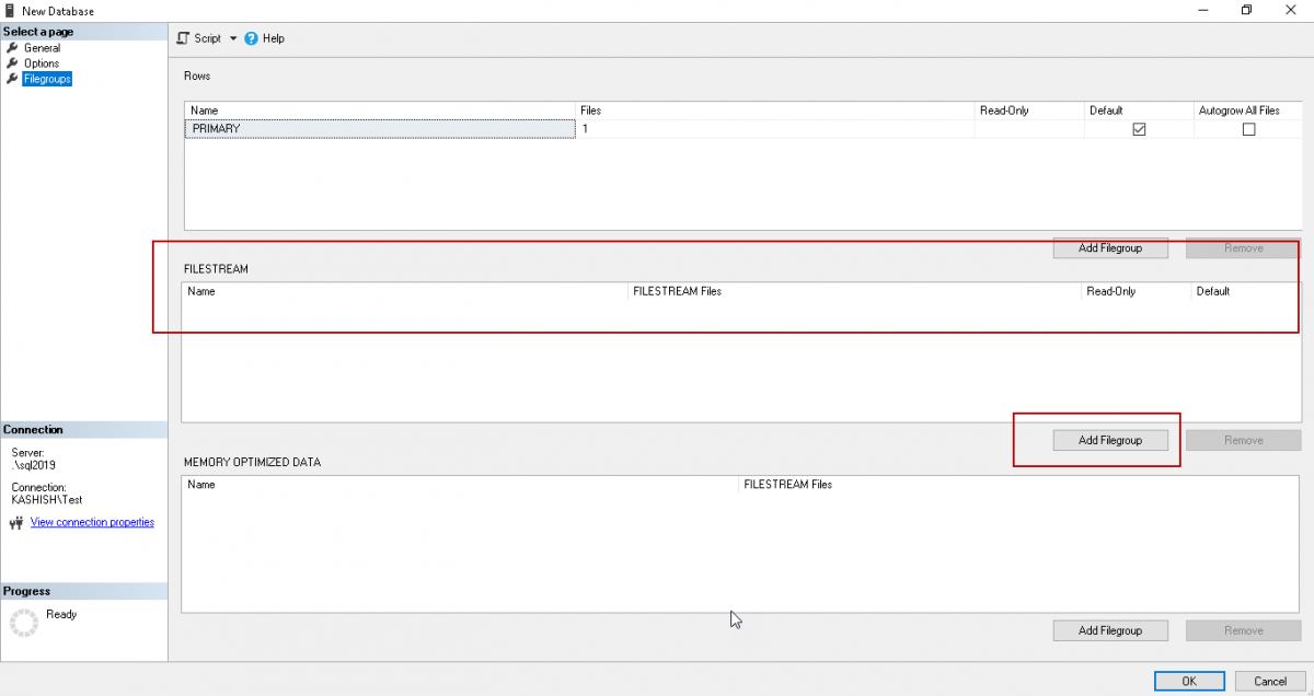 Managing data with SQL Server FILESTREAM tables