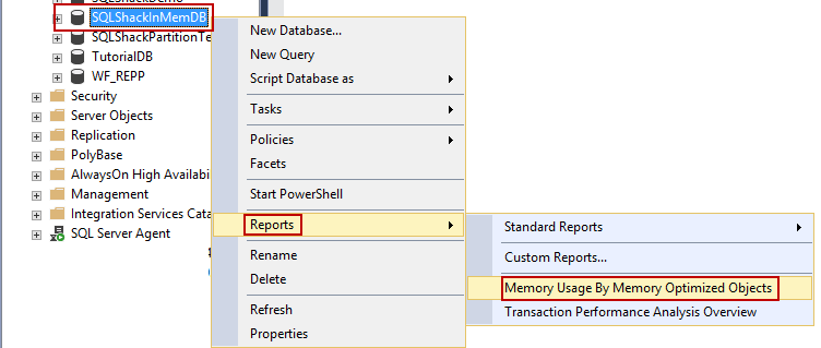 SQL Server In-Memory database internal memory structure
