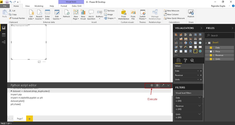 Power BI Desktop and Python