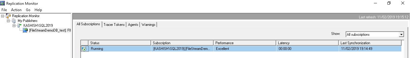 SQL Server FILESTREAM and Replication