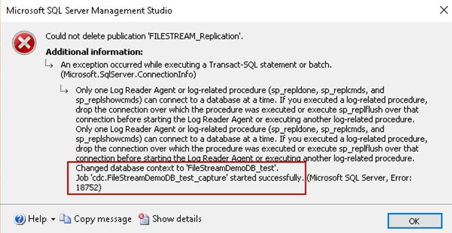 SQL Server FILESTREAM with Change Data Capture