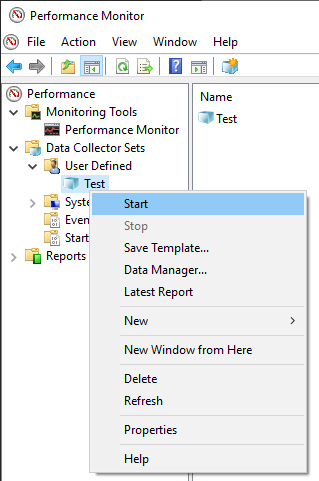 Starting SQL Server monitoring tools to collect SQL Server performance data