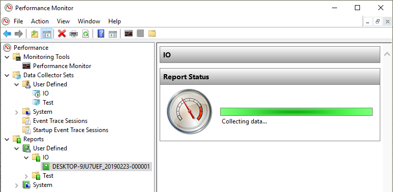 SQL Server monitoring tools data collection reporting status