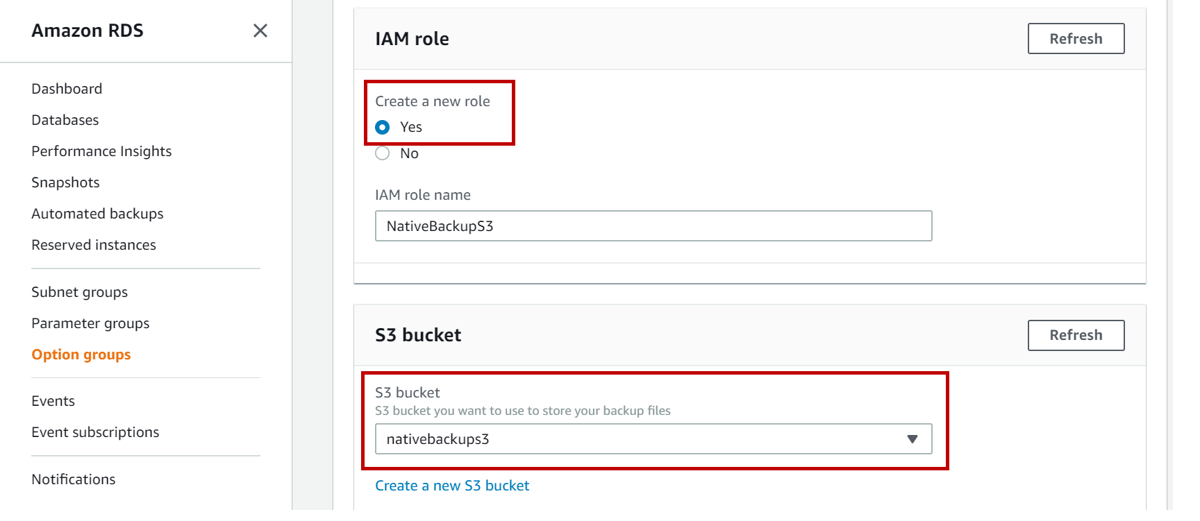 AWS RDS SQL Server recovery models, backups and restores