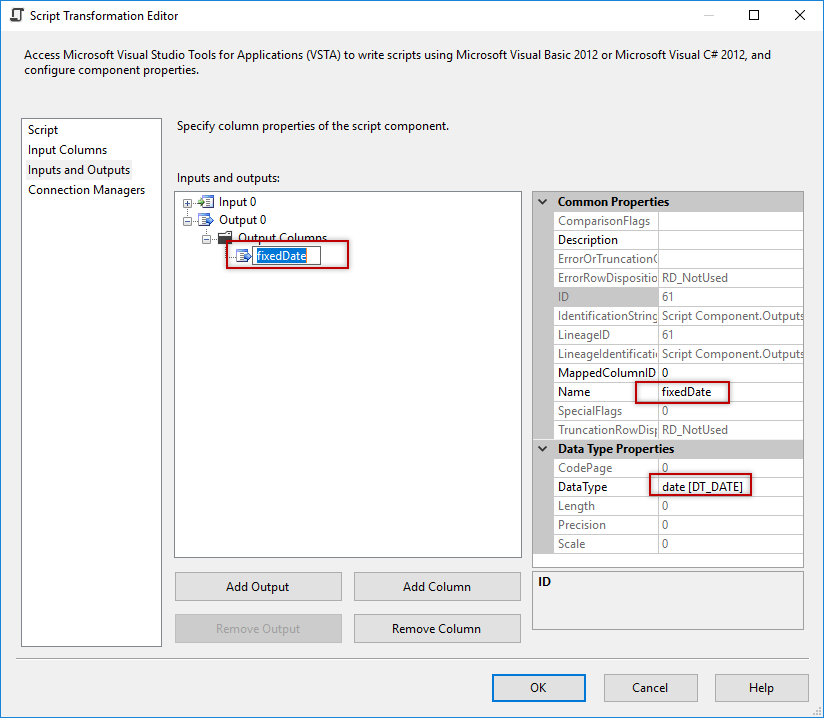 SSIS Script component vs derived column