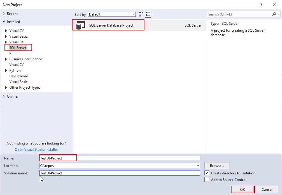 SQL Unit testing with the tSQLt framework and SQL Server Database