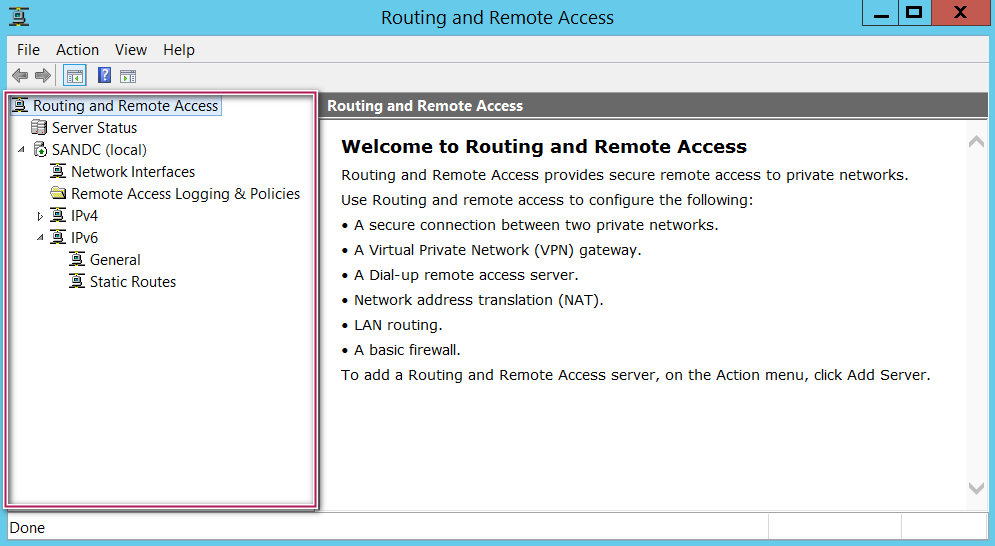 Welcome to Routing and Remote Access