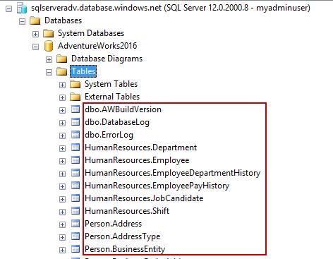 SQL Server database migration to Azure SQL Database using SQL Server