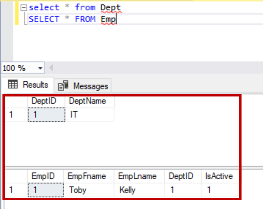 SQL Foreign key