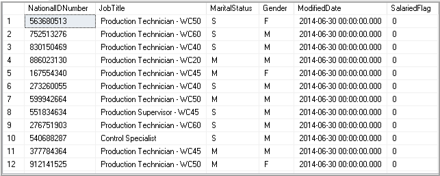 Sort results on a column not defined in a Select statement using SQL Order By clause