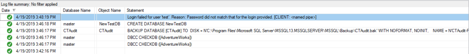 SQL Server Audit Log File Viewer 2