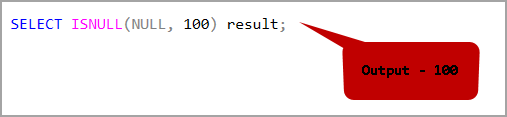 SQL ISNULL function in an argument