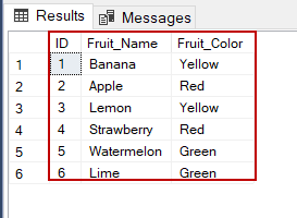 SQL SELECT statement multiple columns result set