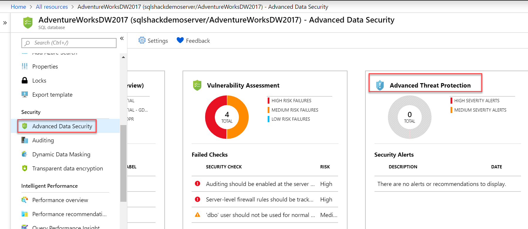 Advanced Threat Protection in Azure SQL Database.