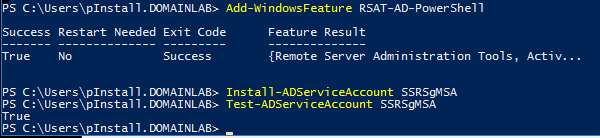 Powershell command for adding windows feature