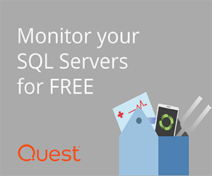 Monitor your SQL Servers for free