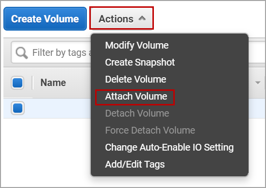 add volumes to the nodes