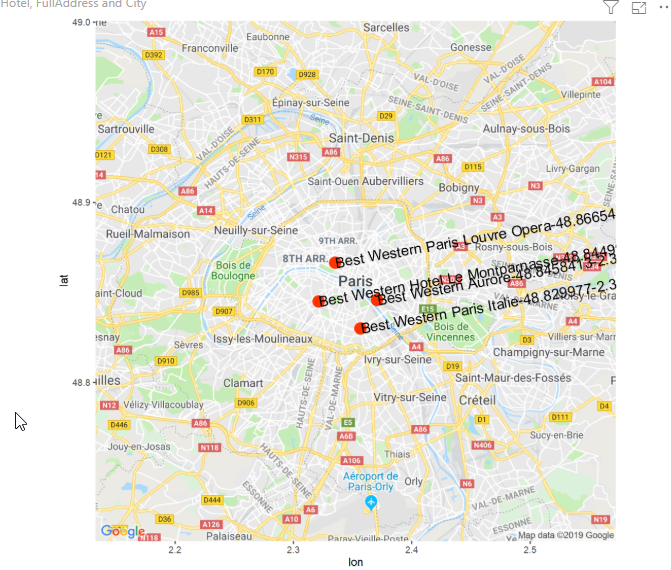 How to create geographic maps in Power BI using R