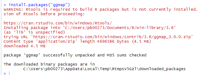 R Install Package