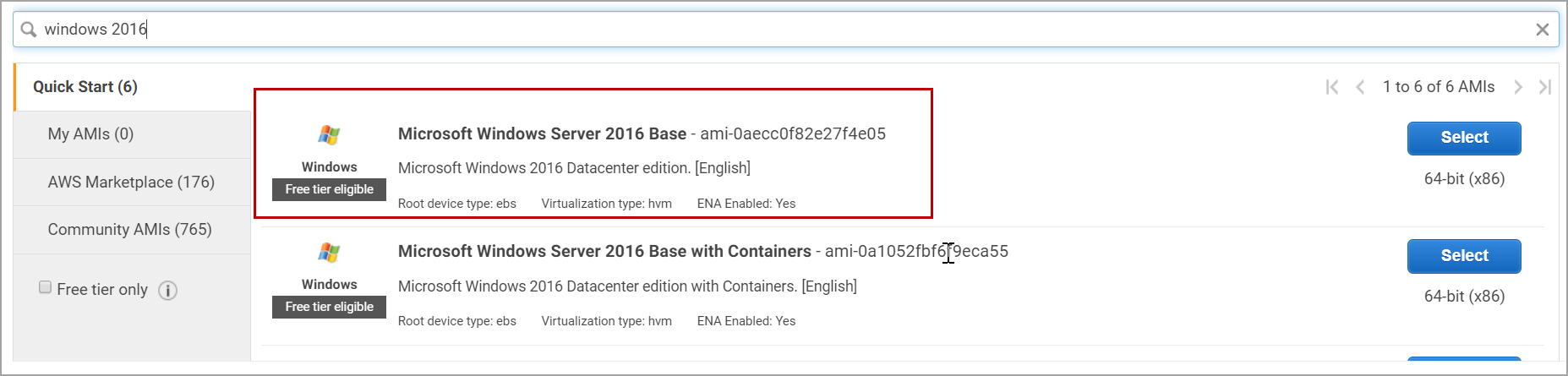 How to configure SAN less SQL Server clusters in AWS EC2