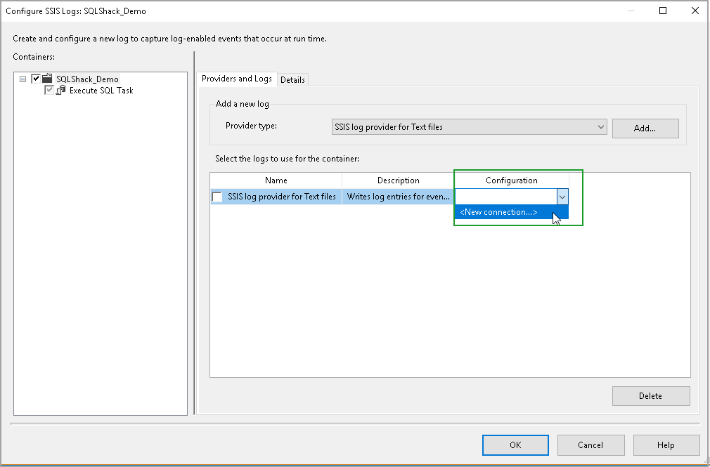 Overview of SSIS Package Logging