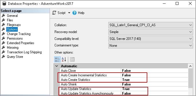SQL Server Statistics and how to perform Update Statistics in SQL