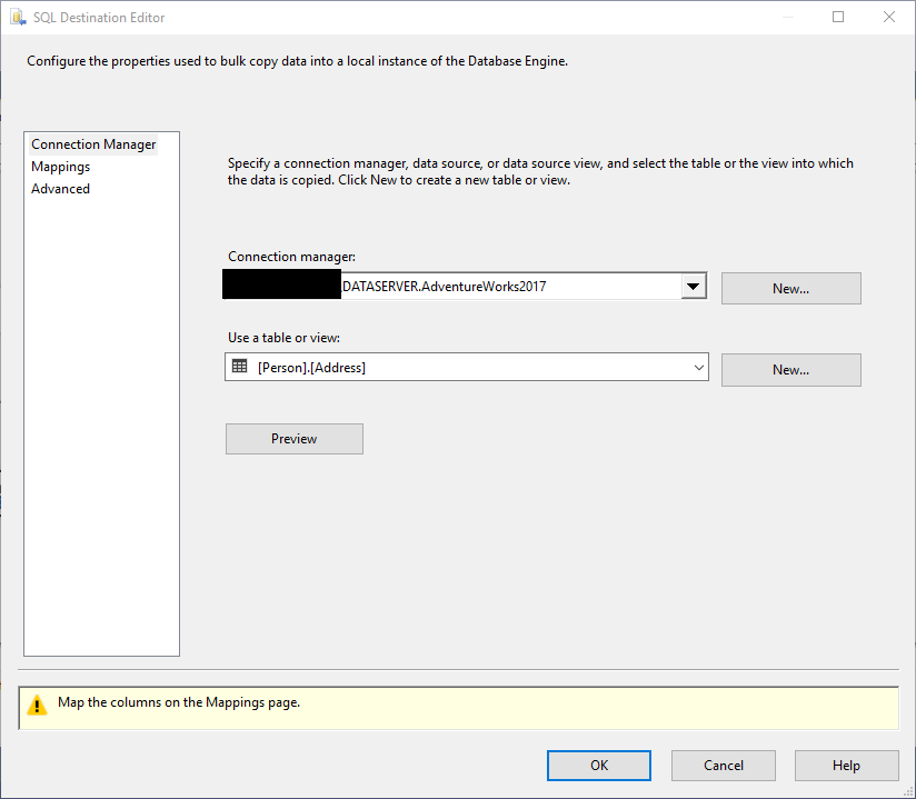 SSIS OLE DB Destination Vs SQL Server Destination