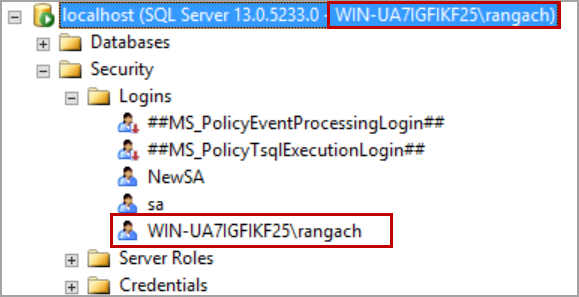 Recover SA password.connect SQL Server using windows authentication.