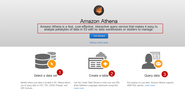 Homepage of Athena