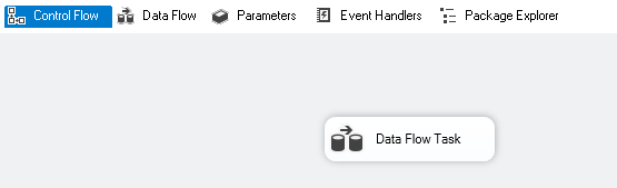 Add a data flow task for data import
