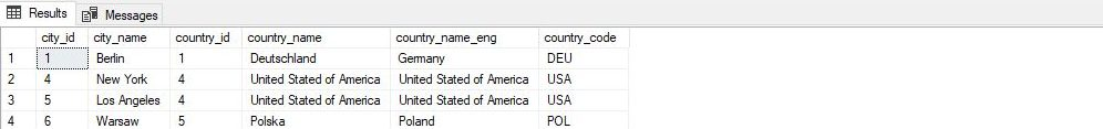 SQL SELECT from multiple table