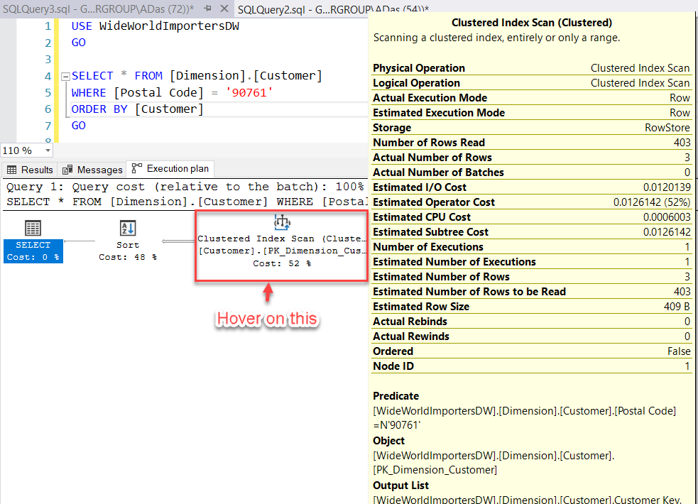 Fetch Execution Plan Details in SQL Server