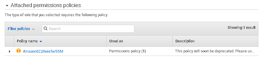 Permissions and Policies