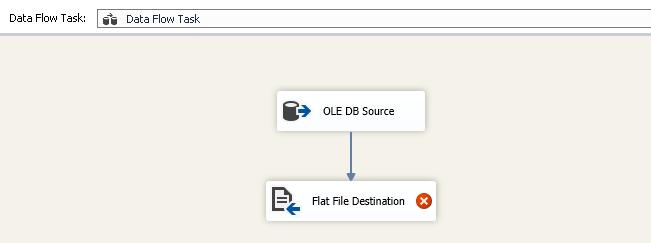 Adicionar um destino de arquivo simples