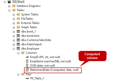 An overview of computed columns in SQL Server