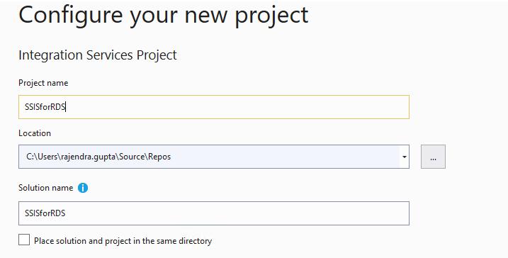 Configurar projeto